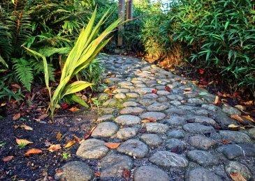 Stone Walkway To The Front Door of Your Home