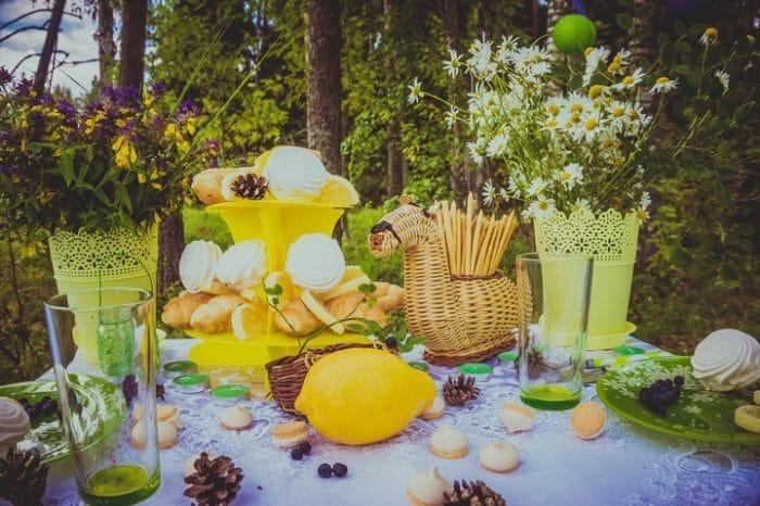 A Few Garden Party Ideas