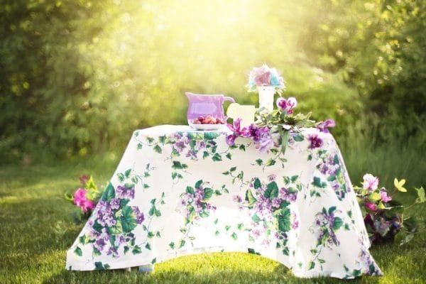 A Few Garden Party Ideas
