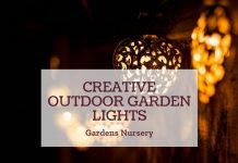 Creative Outdoor Garden Lights