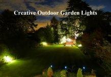 Creative Outdoor Garden Lights