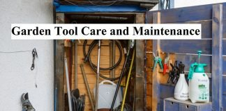 Garden Tool Care and Maintenance