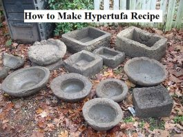 How to Make Hypertufa Recipe
