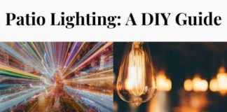 Patio Lighting: A DIY Guide