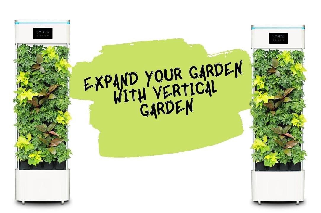 Expand Your Garden With Vertical Garden