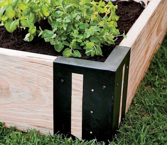 M Brace Raised Bed Gardening
