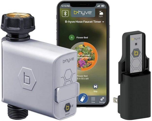 Orbit 21004 B-hyve Smart Hose Faucet Timer with Wi-Fi Hub-min