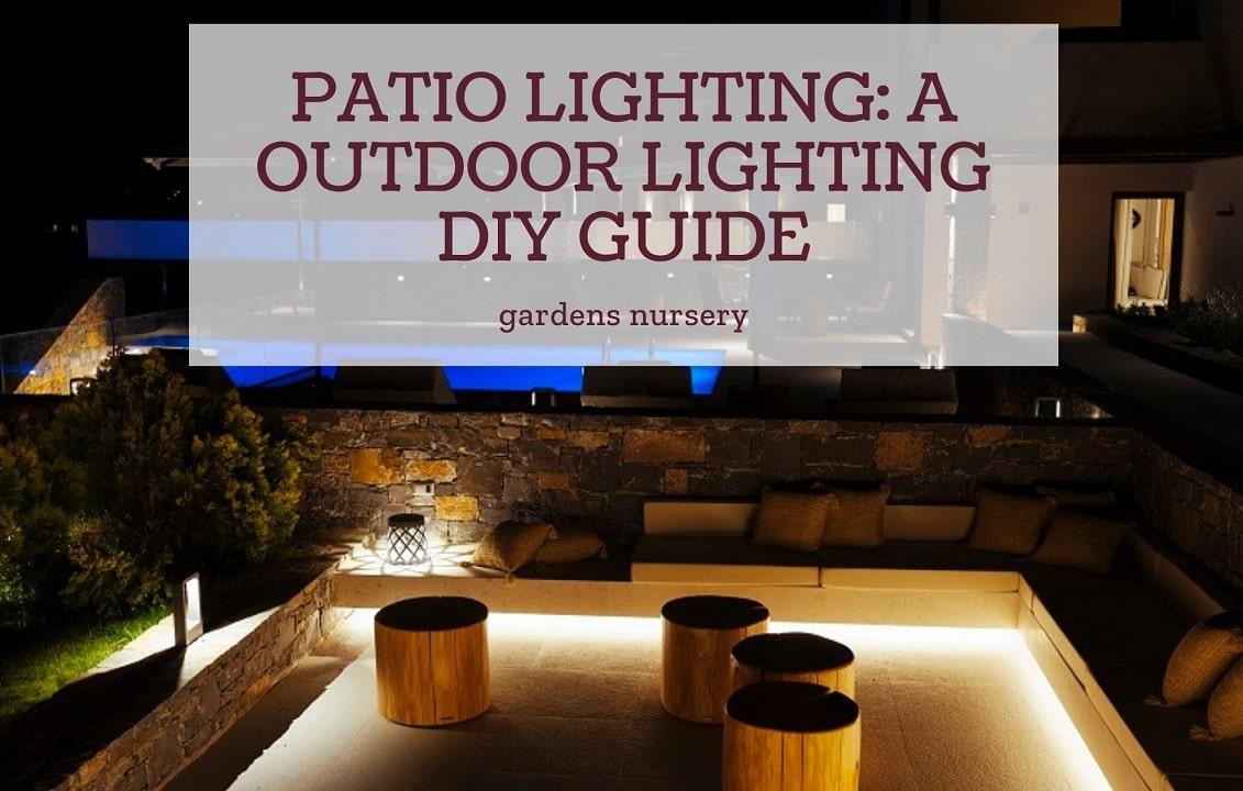 Patio Lighting A Outdoor Lighting Diy Guide