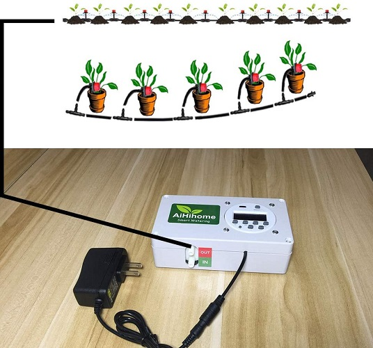 Aihihome Automatic Watering System Indoor Plant Auto Watering