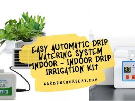 Easy Automatic Drip Watering System Indoor - Indoor Drip Irrigation Kit