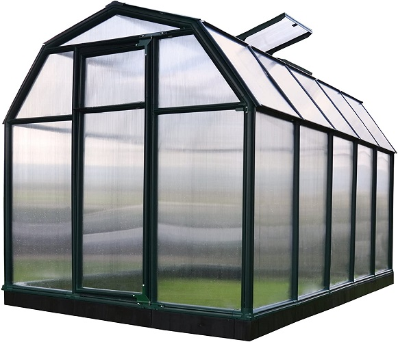 Rion EcoGrow 2 Twin Wall Greenhouse, 6' x 10'