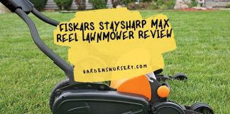 Fiskars StaySharp Max Reel LawnmowerReview