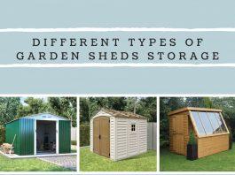Different Types of Garden Sheds Storage