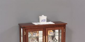 Great Deals on Console Curio Cabinets