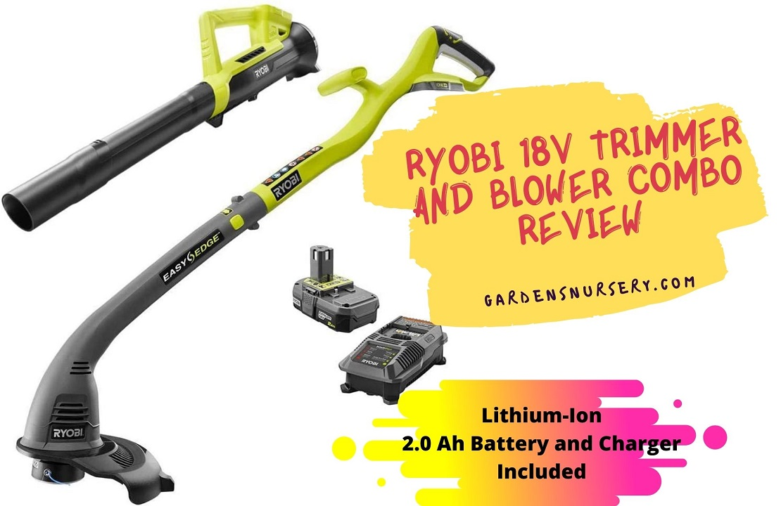 Ryobi 18V Trimmer And Blower Combo Review
