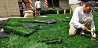 Synthetic Turf Artificial Turf Grass Installation