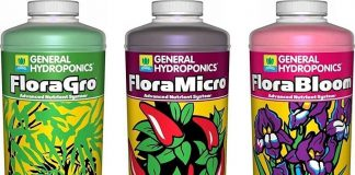 General Hydroponics Flora Grow Easy to use Affordable Widely available