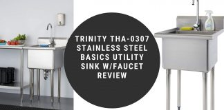TRINITY THA-0307 Stainless Steel Basics Utility Sink wFaucet Review