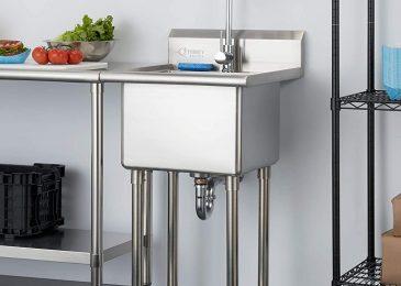 indoor steel sink