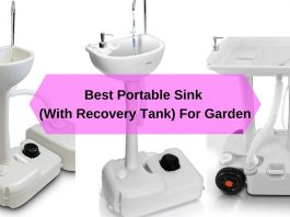 Best Portable Sink (With Recovery Tank) For Garden 2020
