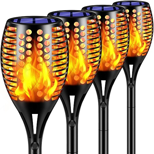 LED Torches Lights Outdoor Solar Landscape Decoration