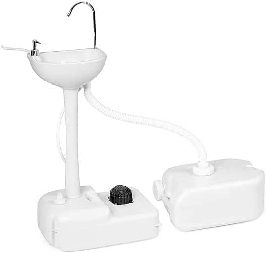 Zhihuitong Outdoor Garden Portable Camping Hand Sink With 24L Recovery Tank