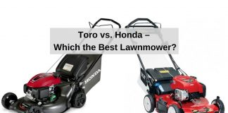 Toro vs. Honda – Which the Best Lawnmower