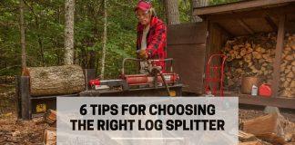 6 Tips For Choosing The Right Log Splitter