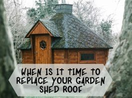 When Is It Time To Replace Your Garden Shed Roof