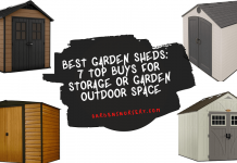 Best Garden Sheds 7 Top buys For Storage or Garden Outdoor Space