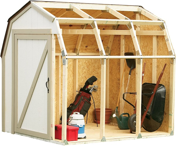 Custom Garden Shed Kit from Barn Roof