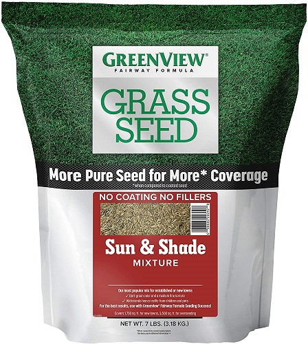 GreenView 2829337 Fairway Formula Grass Seed Sun