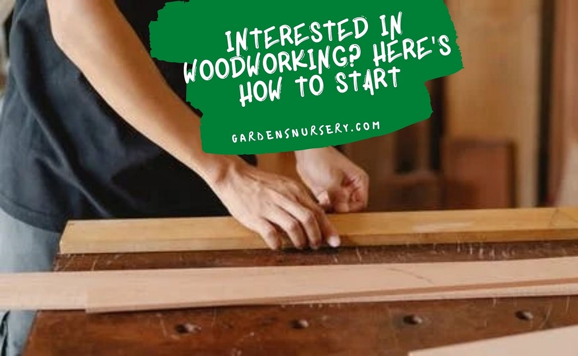 Interested in Woodworking Here's How to Start