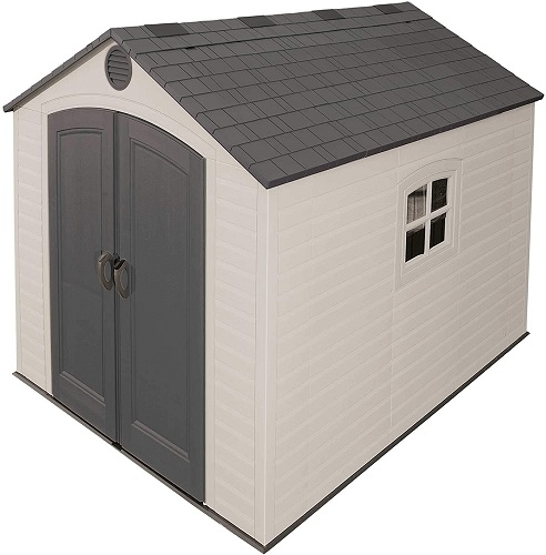 Lifetime 6405 Outdoor Storage Shed with Window