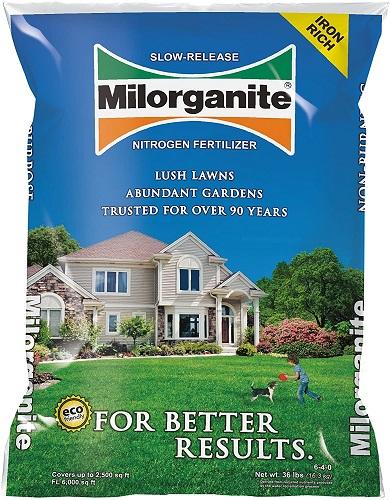Milorganite 0636 Nitrogen Fertilizer