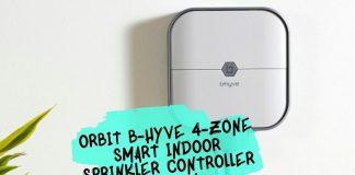 Orbit B-hyve 4-Zone Smart Indoor Sprinkler Controller Review