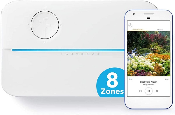 Rachio 3 Smart Sprinkler Controller, 8 Zone 3rd Generation