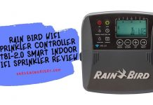 Rain Bird wifi Sprinkler Controller ST8I-2.0 Smart Indoor WiFi Sprinkler Review