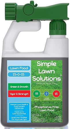 Superior Nitrogen and Potash Lawn Fertilizer by- Simple Lawn Solutions
