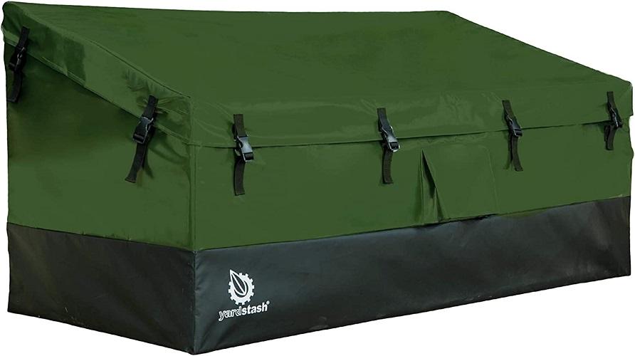 YardStash Outdoor Storage Deck Box XL Easy Assembly Portable Versatile