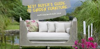Best Buyer's Guide to Garden Furniture