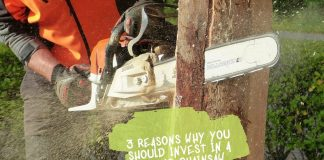 3 Reasons Why You Should Invest In A Proper Chainsaw