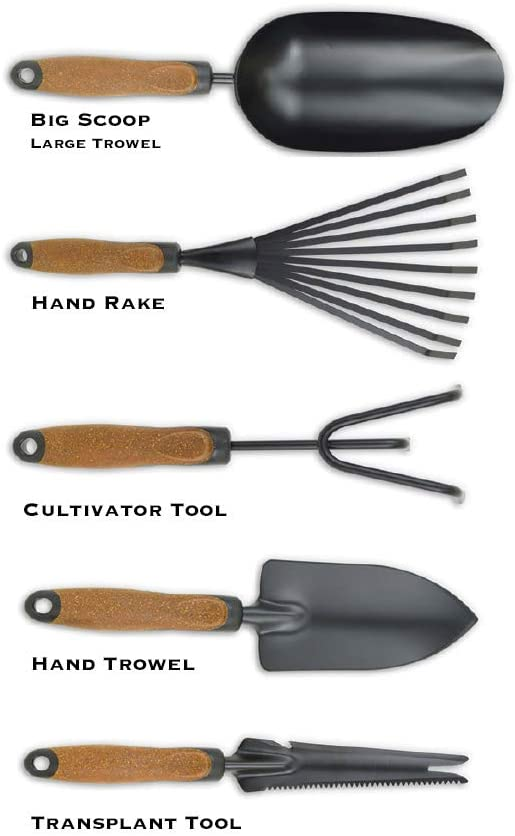 Olmsted Forge Garden Tool Set