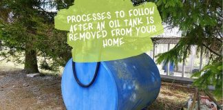 Processes to Follow After an Oil Tank is Removed From Your Home