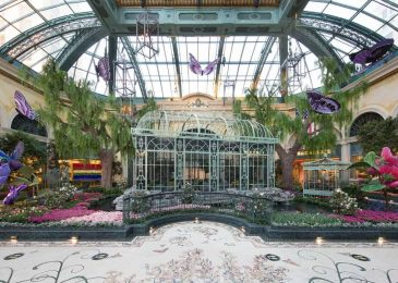 The Bellagio Conservatory and Botanical Garden