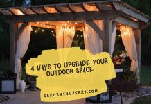 4 Ways to Upgrade Your Outdoor Space
