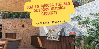 How to Choose the Best Outdoor Kitchen Cabinets