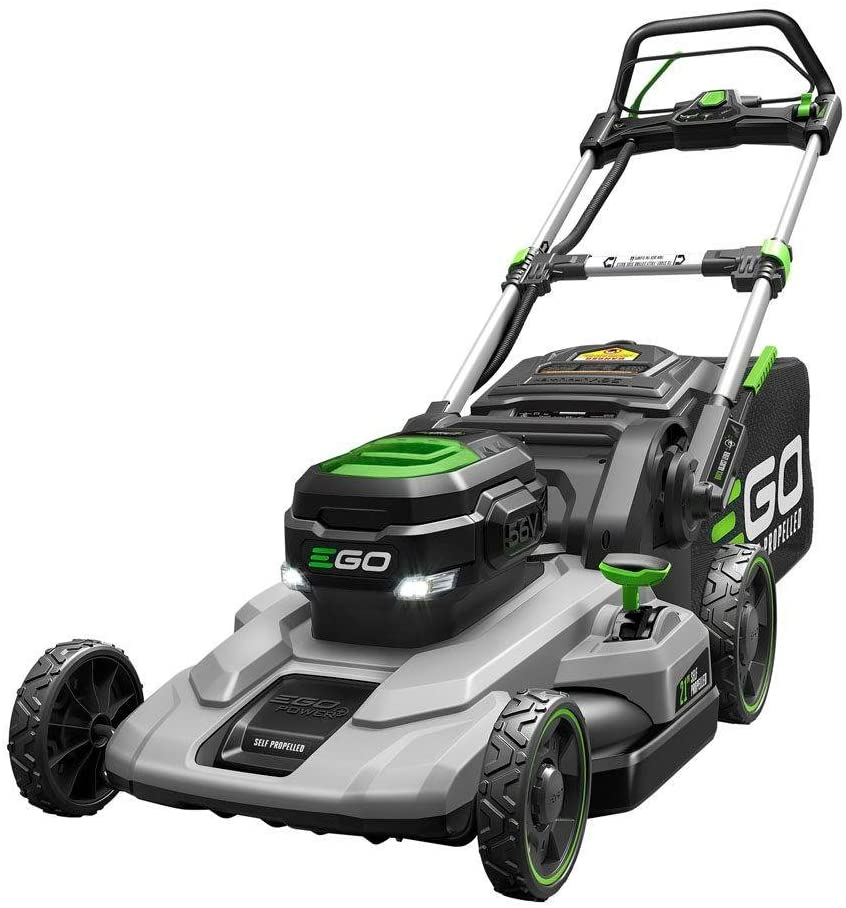 Ego Lm2102Sp 21 Self Propelled Lawnmower With 7.5Ah Battery &Amp; Rapid Charger