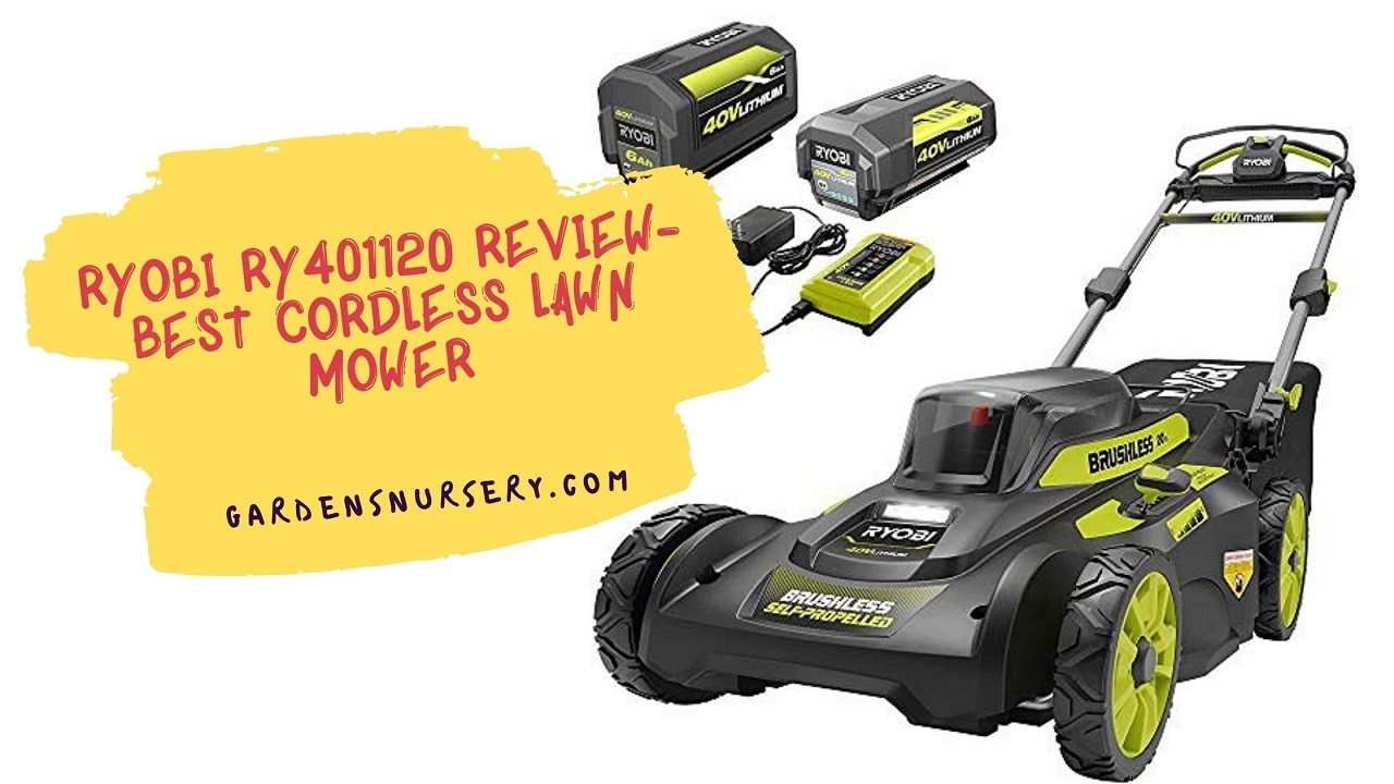 Ryobi Ry401120 Review- Best Cordless Lawn Mower
