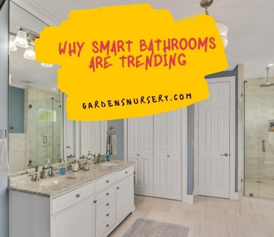Why Smart Bathrooms are Trending